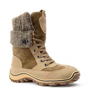 Pajar Ava Winter Boot Honey Brown, size 8